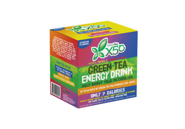 Green Tea X50 Assorted Box 60 Serve