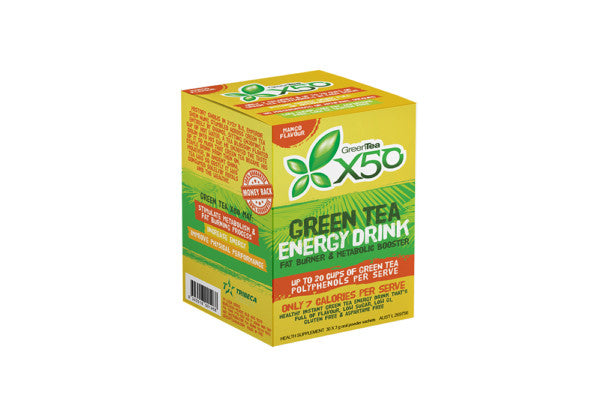 Green Tea X50 Mango 30 Serve