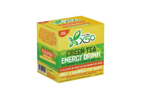 Green Tea X50 Mango 60 Serve