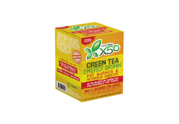 Green Tea X50 Tropical 30 Serve