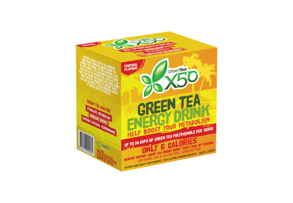 Green Tea X50 Tropical 60 Serve
