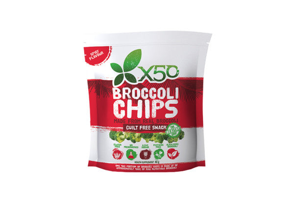 X50 Broccoli Chips – Spicy