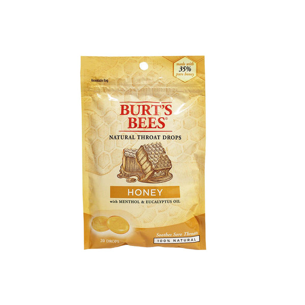 Burt's Bees Natural Throat Drops (20), Honey