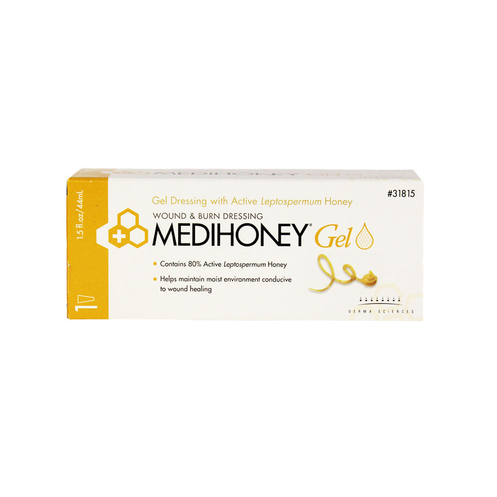 Derma Sciences Medihoney Wound & Burn Dressing Gel, 1.5 fl. oz. tube