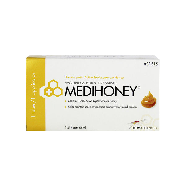Derma Sciences Medihoney Wound & Burn Dressing Paste, 1.5 fl. oz. tube