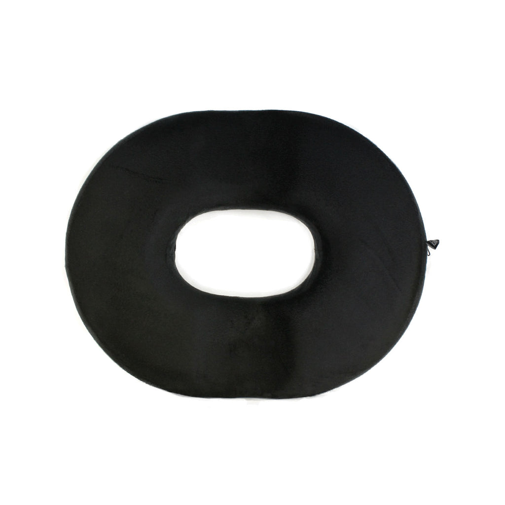 Kieba Foam Donut Cushion, 18 Inches, black