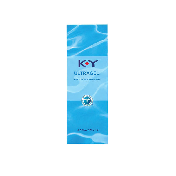 K-Y UltraGel Personal Lubricant, Water-Based Liquid Gel, 4.5 fl. oz.