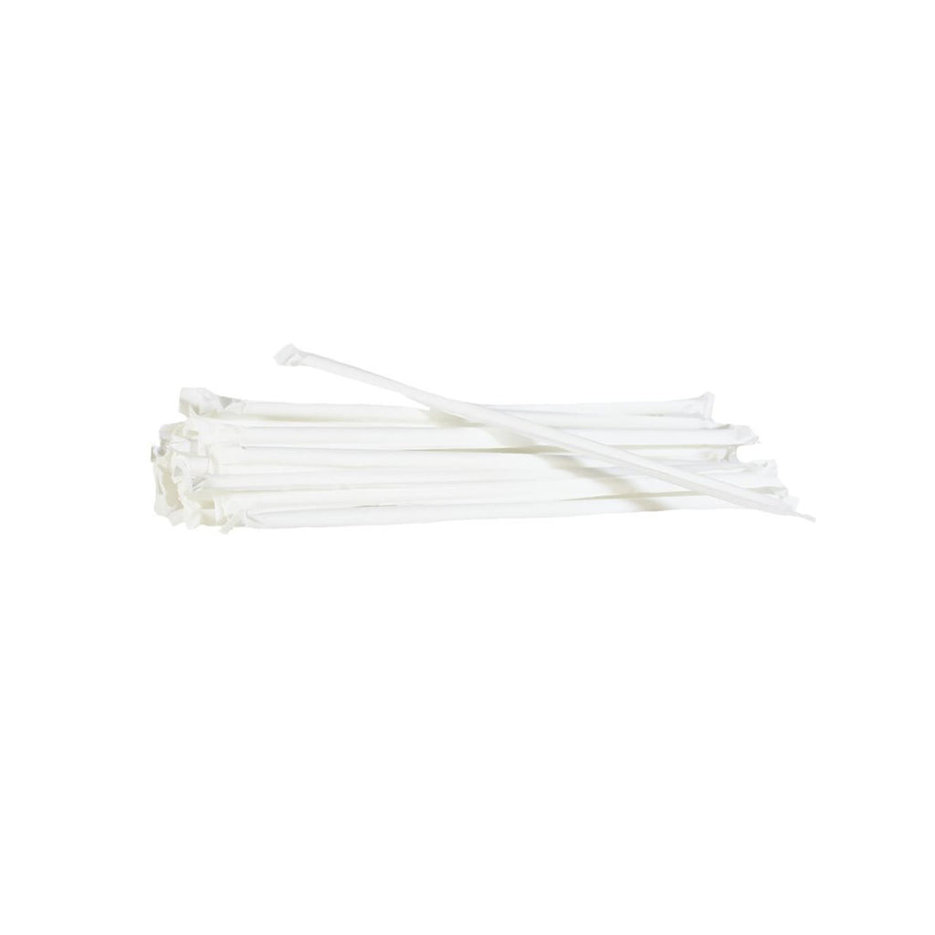 McKesson Flexible Plastic Straws, pack of 50