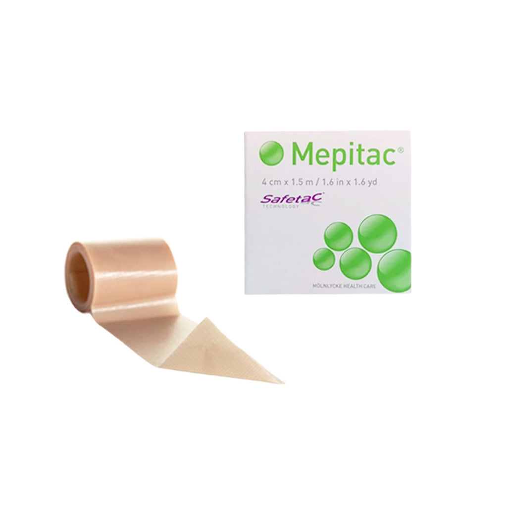 "Molnlycke Mepitac Soft Silicone Tape, 1½"" x 59"""