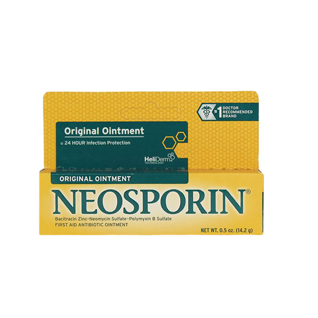 Neosporin First Aid Antibiotic Ointment, Original, 0.5 oz. tube