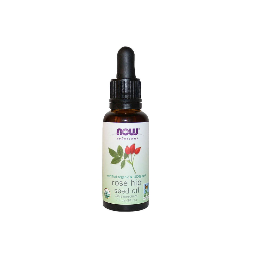 Now Solutions Organic Rose Hip Seed Oil, 1 fl. oz.