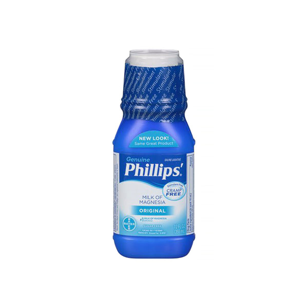 Phillips' Milk of Magnesia Liquid Laxative, Original, 12 fl. oz.