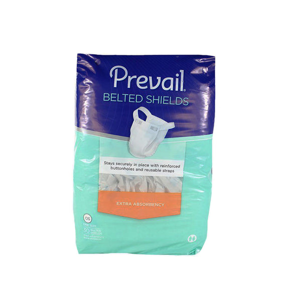 Prevail Belted Shields Undergarments, pack of 30