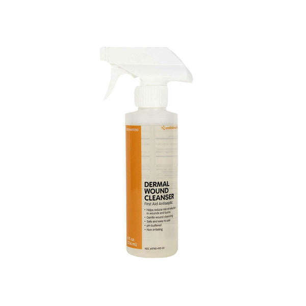 Smith & Nephew Dermal Wound Cleanser, 8 fl. oz. spray bottle