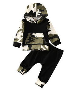 Camo Hoodie set - Lillys little luxuries