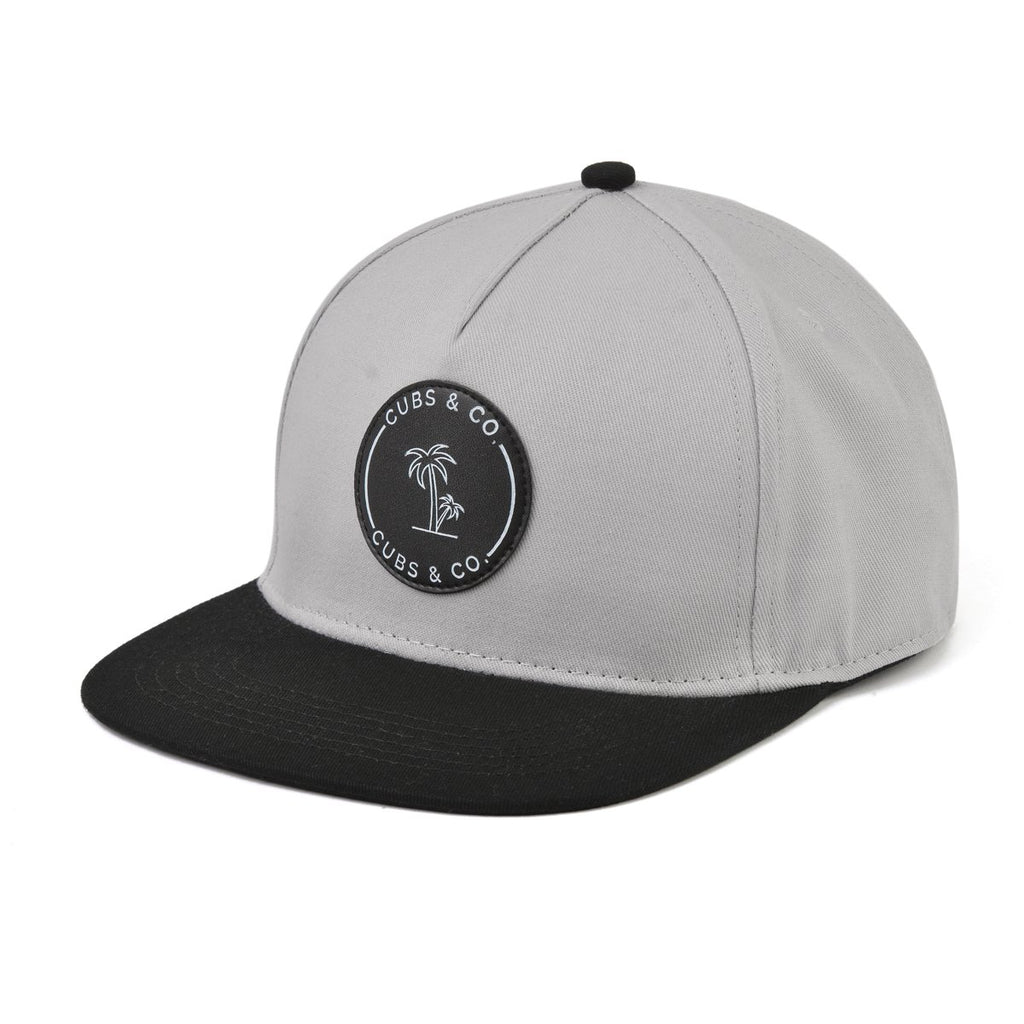 BLACK & GREY WITH LOGO