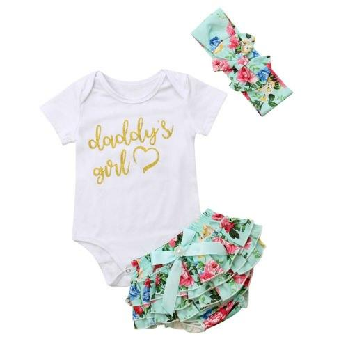 Daddys Girl Bloomer Set - Lillys little luxuries