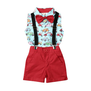 Cars Suspender set - Lillys little luxuries