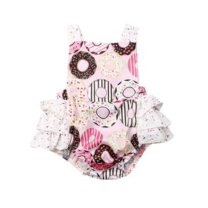 Donut Romper - Lillys little luxuries