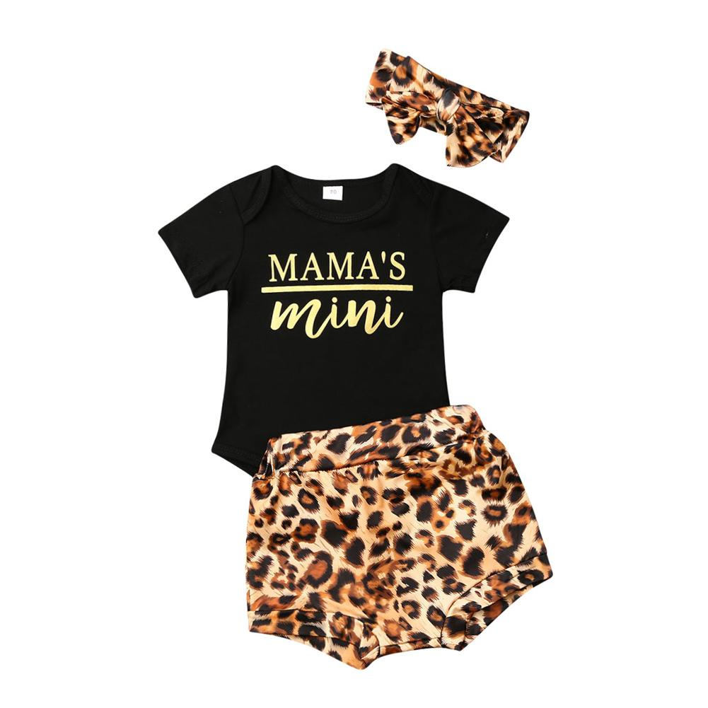 Mamas Mini Leopard set