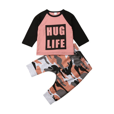 Camo hug life set - Lillys little luxuries