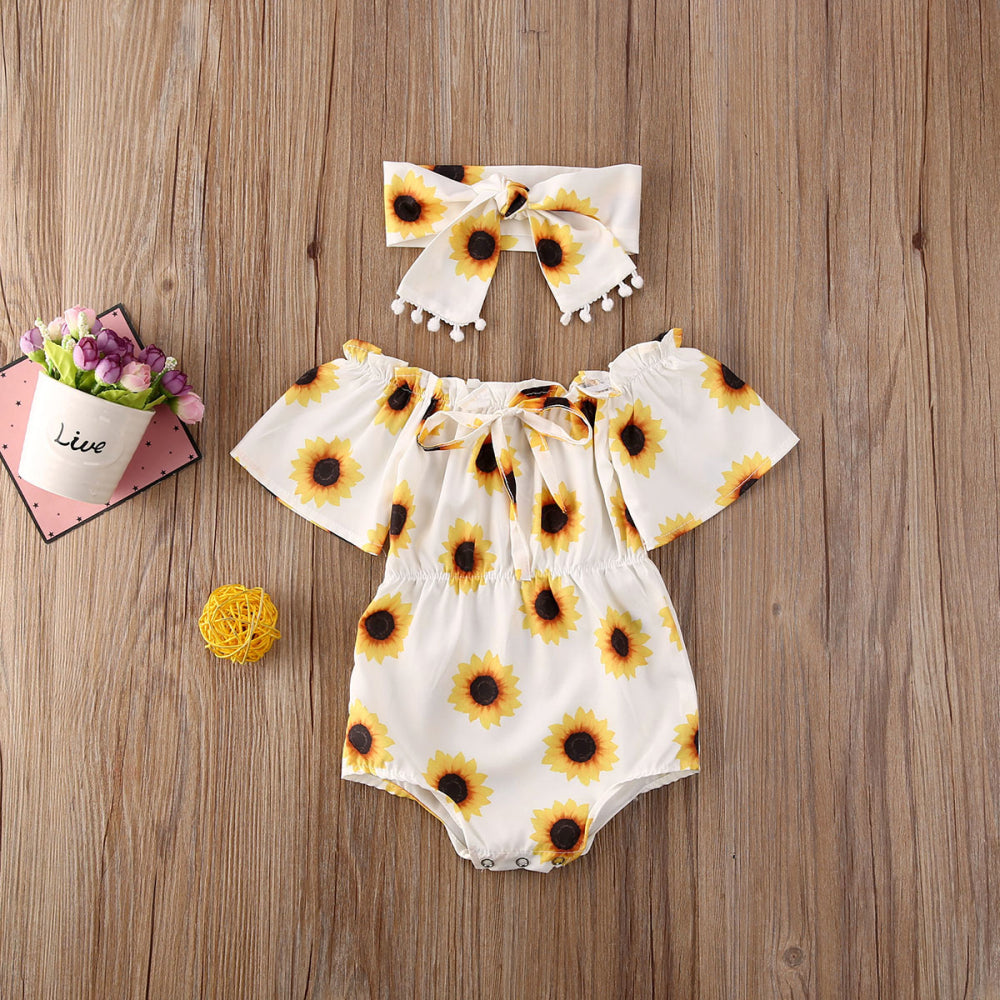 Sunflower Romper