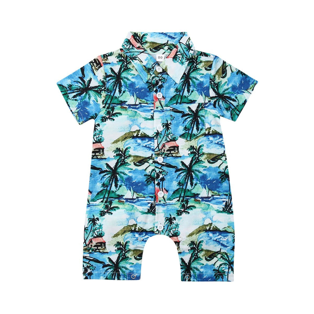 Boys Surf Romper