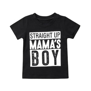 Straight up Mamas boy!