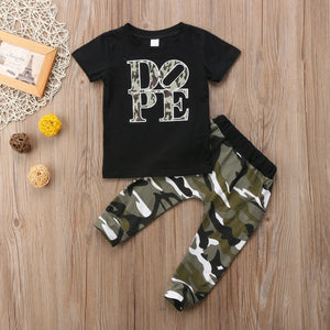 Dope camo set - Lillys little luxuries