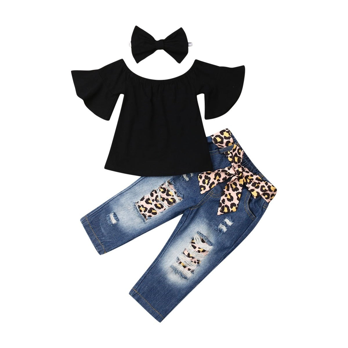 Leopard night set