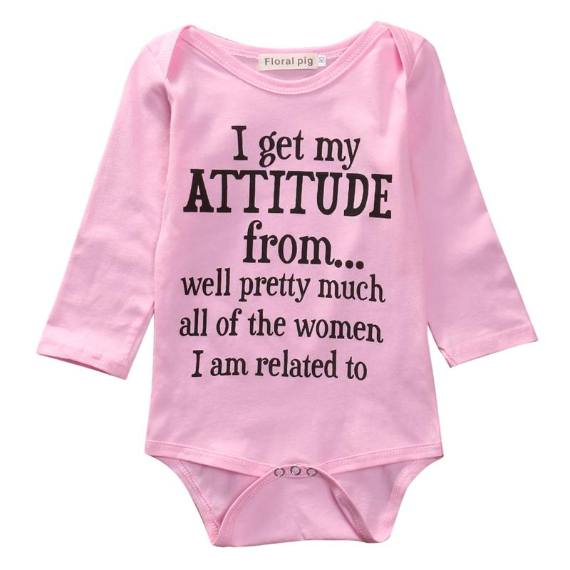 Attitude romper - Lillys little luxuries