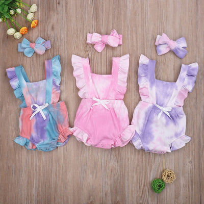 Tie dye rompers - Lillys little luxuries
