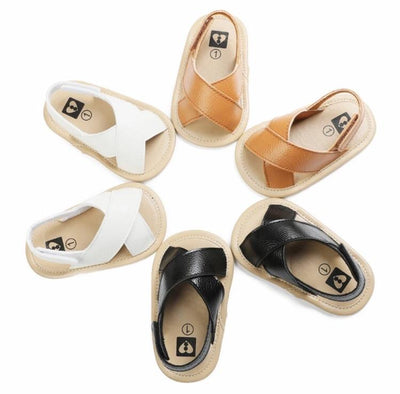 Cross hollow Sandals - Lillys little luxuries