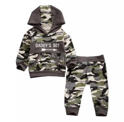 Daddys Boy camo set - Lillys little luxuries