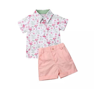 Flamingo Peach set