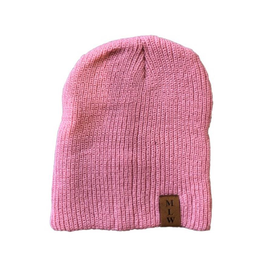 MLW By Design - Knit Beanie | Pink - Lillys little luxuries
