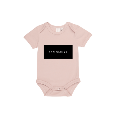 MLW By Design - FKN CLINGY Bodysuit | Pink - Lillys little luxuries