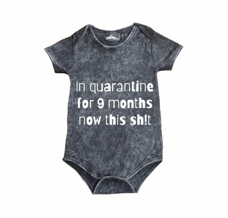 MLW By Design - Quarantine Stonewash Bodysuit - Lillys little luxuries