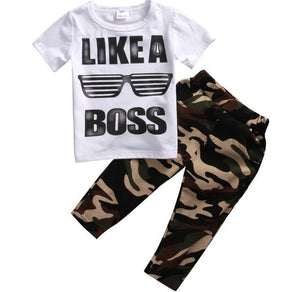 Boys like a boss set - Lillys little luxuries