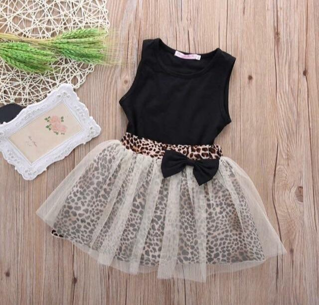 Girls leopard set
