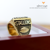 FFL - Fantasy Football League (2017) - CUSTOM NAME Championship Ring (Gold Plated)