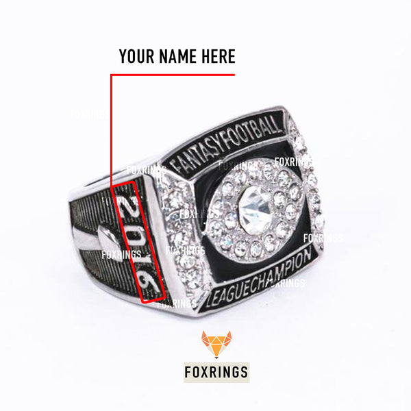 Fantasy Football League (2016) - CUSTOM NAME Championship Ring