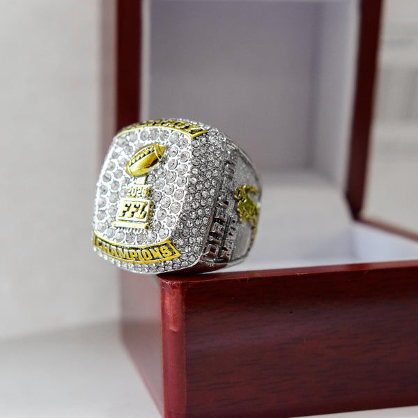 Fantasy Football League (2020) - CUSTOM NAME Championship Ring