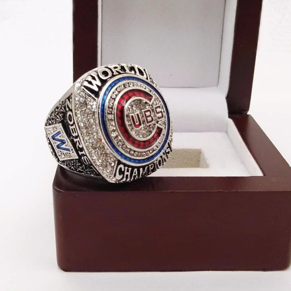 Chicago Cubs (2016) Replica World Series Championship Ring (2017 Goat Design)