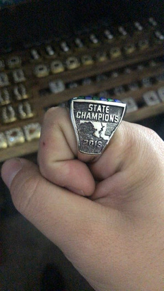 Churchill Bulldogs (2019) State Champions Ring