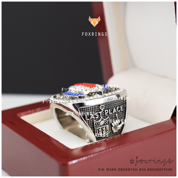 FFL LOSER - Fantasy Football League (CUSTOM NAME) Participation Ring