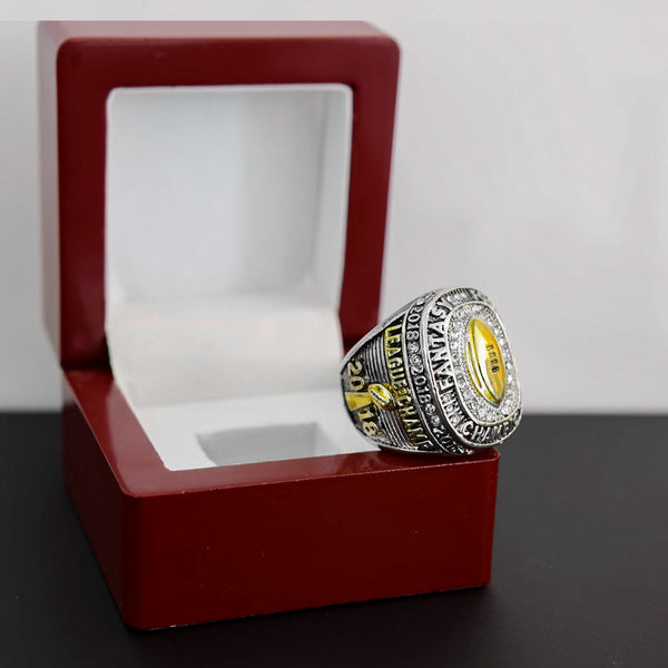 Fantasy Football League (2018) - Championship Ring (Golden Football)