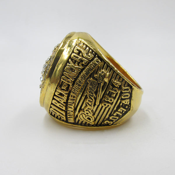 Atlanta Braves Replica Championship Rings