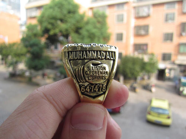 Muhammad Ali (1978) Greatest Heavyweight Boxing World Championship Ring