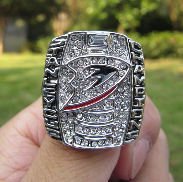 Anaheim Ducks Hockey (2007) - Replica NHL Stanley Cup Championship Ring